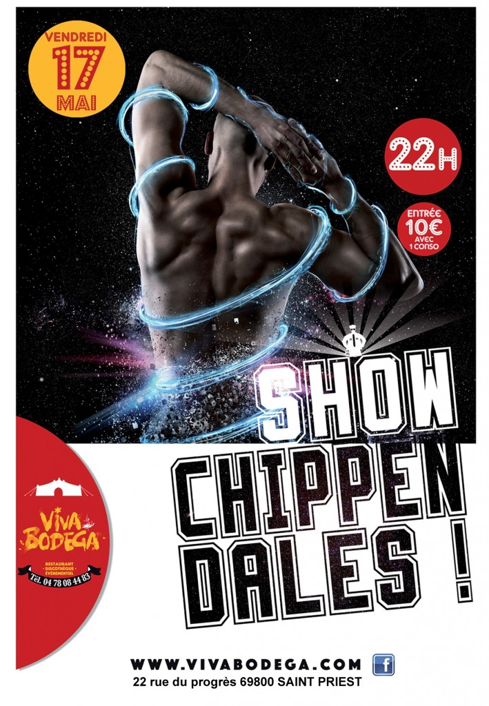 chippendales 2019 flyer