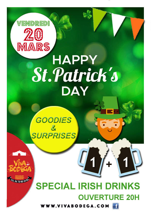 afichette St Patrick